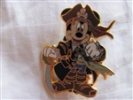Disney Trading Pin 45872: Pirates of the Caribbean (Captain Mickey Mouse)