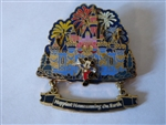 Disney Trading Pin 45940 DLR - Happiest Homecoming On Earth (Mickey Mouse and Sleeping Beauty Castle at Night) 3D/Dangle