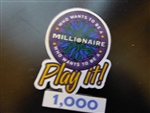Disney Trading Pin   4596 Who Wants to Be a Millionaire: Play it! Set (1000 Points)