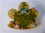 Disney Trading Pin 46196: DLR - Topiary Collection - Cinderella and Friends (Surprise Release)