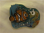 Disney Trading Pin 46235: Finding Nemo - Squirt and Nemo