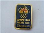 Disney Trading Pin 4633 Disneyland Olympic Team Salute 1988 - Logo (Sleeping Beauty Castle)