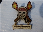 Disney Trading Pin Pirates of the Caribbean - Dead Man's Chest - Skull Logo