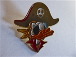 Disney Trading Pin 46443 Sedesma - Donald Duck Pirate (Yellow Scarf) Gold
