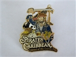 Disney Trading Pin  46468 DLR - Pirates of the Caribbean Legend of the Golden Pins (Logo)