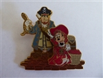 Pirates of the Caribbean - Disney Characters - Minnie Mouse with Peglegged Pete