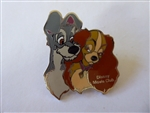 Disney Trading Pins 46919 Disney Movie Club Exclusive Pin #14 - Lady & Tramp