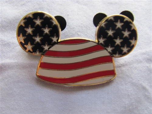 37469508ed1 Disney Trading Pin 46957  Mickey Mouse - Stars and Stripes Ear Hat