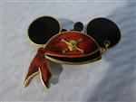 Disney Trading Pin  Mickey Mouse Ear Hat - Pirates of the Caribbean