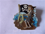 Disney Trading Pin   47073 DLR - Pirates of the Caribbean - Skeleton Navigator