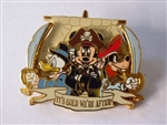 Disney Trading Pin 47105 Pirates of the Caribbean - Mickey, Goofy, and Donald - It's Gold We're After