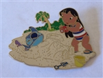 Disney Trading Pin 47138 Disney Auctions - Memorial Day 2006 (Lilo and Stitch) gold Artist Proof