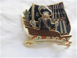 Disney Trading Pins 47537 Pirates of the Caribbean - Attraction - Barbossa on Ship