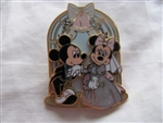 Disney Trading Pins 47557: Mickey Mouse and Minnie Mouse - Wedding