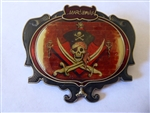 Disney Trading Pin 47741 WDI - Marc Davis Pirate Skull & Crossed Swords