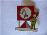 Disney Trading Pin 47772 WDW - It's a Small World - A Magical Transformation - Framed Set (Peter Pan & Tinker Bell)
