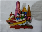 Disney Trading Pin 48052 WDW - Retro Walt Disney World Collection - Fantasyland with Huey, Dewey & Louie