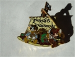 Disney Trading Pin 48096 Cast Exclusive - Pirates of the Caribbean