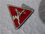 Disney Trading Pin 4816 DLR - Traffic/Road Signs (Yield)