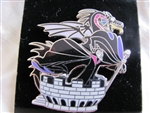 Disney Trading Pin 48203: Maleficent and Dragon on Tower