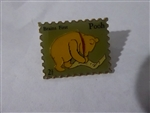 Disney Trading Pin 4826 Pooh Brains First Postage Stamp