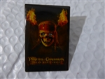 Disney Trading Pin 48488 DS - Pirates of the Caribbean: Dead Man's Chest - Skull with Torches (Light-up)