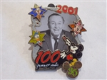 Disney Trading Pin  48594 WDW - 35 Magical Milestones - 2001 - 100 Years of Magic Celebration