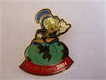 Disney Trading Pin  4868 WDW - Earth Day 2001 (Jiminy Cricket)