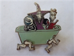 Disney Trading Pin 48759 Tim Burton's The Nightmare Before Christmas - Lock, Shock and Barrel in Bathtub