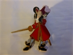 Disney Trading Pin Good vs. Evil - Pin Card Collection (Captain Hook)