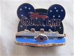 Disney Trading Pin 49006: DCL - Cruise Ship - Starry Night (Diorama)