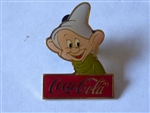 Disney Trading Pin  493 WDW - Cast 15th Anniversary Coca-Cola Framed Set (Dopey)