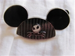 Disney Trading Pin 49875: Mickey Mouse Ear Hat - Jack Skellington