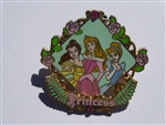 Disney Trading Pins 49877 Princess - Belle, Aurora and Cinderella