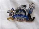 Disney Trading Pins 49898: WDW - The Year of a Million Dreams (Goofy and Donald Duck)