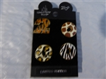 Disney Trading Pin  499 Animal Kingdom LE 2000 4-pin Set