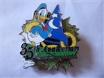Disney Trading Pins 49970 WDW - White Glove Collection - 35th Anniversary (Donald MGM)