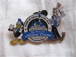 Disney Trading Pin 50027: DLR - The Year of a Million Dreams - Goofy and Donald Duck