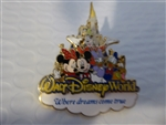 Where Dreams Come True (Storybook Logo) 3D