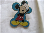 Disney Trading Pin 50459: Mickey Mouse Expressions Booster 4 Pin Collection (Confused)