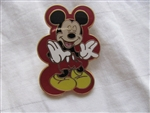 Disney Trading Pins 50460: Mickey Mouse Expressions Booster 4 Pin Collection (Laughing)