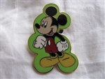 Disney Trading Pin 50462: Mickey Mouse Expressions Booster 4 Pin Collection (Classic)