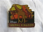 Disney Trading Pins 5048 Animal Kingdom Pin Event Giraffe