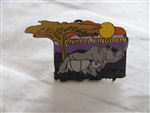 Disney Trading pin 5050 Animal Kingdom Pin Event Rhino and Baby