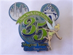 Disney Trading Pin  50777 WOD NYC - NYC Salutes 35 Magical Years of Walt Disney World (Tinker Bell) Artist Proof