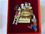 Disney Trading Pin 50951 WDW - Spectacle of Lights 2006 - Mickey, Goofy and Donald - Jumbo