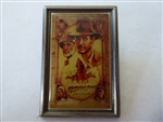 Disney Trading Pin 5105 Indiana Jones Poster Pin - Last Crusade