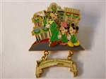 Disney Trading Pin 51275 DLR - Candlelight Processional 2006 - Mickey, Minnie and Goofy