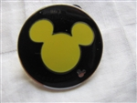 Disney Trading Pin 51306: WDW - Hidden Mickey Collection - Mickey Icon (Yellow)
