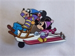 Disney Trading Pin   51556 DisneyShopping.com - Mickey & Goofy in the Snow